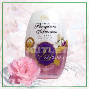 """ST"" ""Shoushuuriki"" Жидкий дезодорант – ароматизатор для комнат с ароматом жасмина и розы, 400 мл"