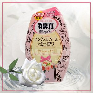 """""""ST"""" """"Shoushuuriki"""" Жидкий дезодорант – ароматизатор для комнат c ароматом белого букета, 400 мл"""