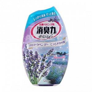 """ST"" ""Shoushuuriki"" Жидкий дезодорант – ароматизатор для комнат с ароматом лаванды, 400 мл"