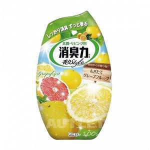 """""""ST"""" """"Shoushuuriki"""" Жидкий дезодорант – ароматизатор для комнат c ароматом грейпфрута, 400 мл"""