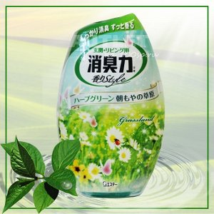 """ST"" ""Shoushuuriki"" Жидкий дезодорант – ароматизатор для комнат c ароматом азиатских трав, 400 мл"