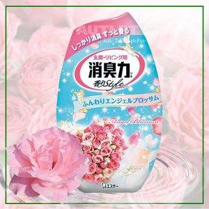"""""""ST"""" """"Shoushuuriki"""" Жидкий дезодорант – ароматизатор для комнаты с ароматом розовых цветов, 400 мл"""