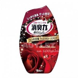 """""""ST"""" """"Shoushuuriki"""" Жидкий дезодорант – ароматизатор для комнат c ароматом роз, 400 мл"""