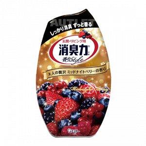"""ST"" ""Shoushuuriki"" Жидкий дезодорант – ароматизатор для комнат c ароматом сладких ягод, 400 мл"