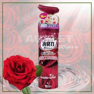 """""""ST"""" """"Shoushuuriki"""" Спрей-освежитель воздуха для комнат с ароматом роз, 280 мл"""