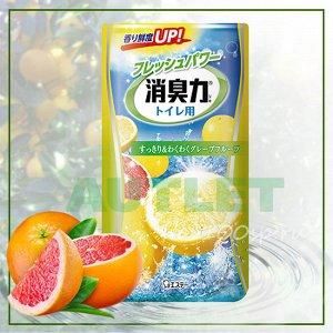 """""""ST"""" """"Shoushuuriki"""" Жидкий дезодорант – ароматизатор для туалета с ароматом грейпфрута, 400 мл"""