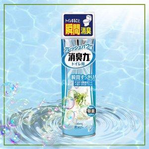 """""""ST"""" """"Shoushuuriki"""" Освежитель воздуха для туалета с ароматом свежести, 330 мл"""