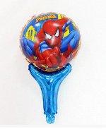 """Надувная палочка с колокольчиком внутри """"Человек-паук"""""""