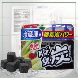 """""""ST"""" """"Dashshuutan"""" Желеобразный дезодорант с древесным углем """"Бинчотан"""" для холодильника (основная камера), 140 гр"""