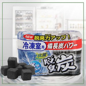 """""""ST"""" """"Dashshuutan"""" Желеобразный дезодорант с древесным углем """"Бинчотан"""" для холодильника (морозильная камера),  70 гр"""