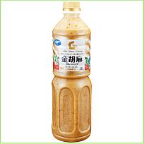 """""""Golden Sesame Dressing"""" Насыщенный соус на основе кунжутного масла и яичного желтка-ОчЕНь вкусный!!!, 1л"""