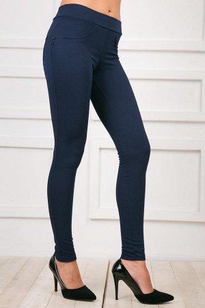 Брючки-лосины синие, 40-42 размер