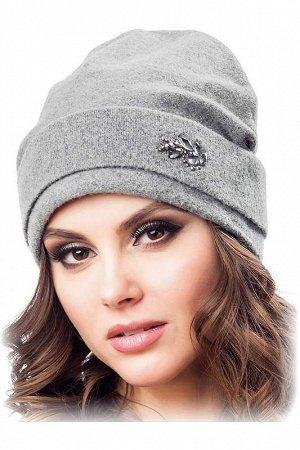 шапка женская. Цвет темно-синий.