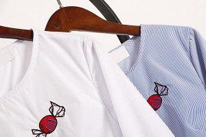 Шикарная блузка с клеш-рукавом