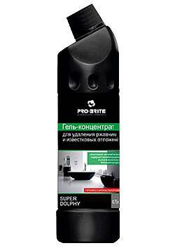 Ср-во чистящее конц кислотное для сантехники, ежедневная чистка Super dolphy5л Pro Brite 017-5