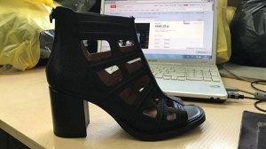Итальянские кожаные ботинки 41 размера