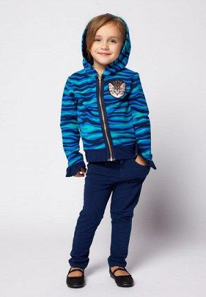 Куртка трикотажная детская для девочки