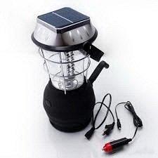 Фонарь Фонарь с 5 источниками энергии. Светодиодный.  Фонарь на светодиодах. Работает от Солнечной батареи 3 батареек Динамо-машины От розетки или прикуривателя.