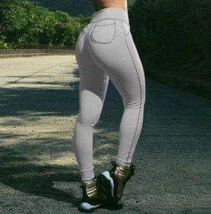 Тренировочные штанишки. Светло-серые