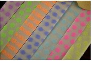 Бумага Бумага для оригами, аппликаций и др., размер полоски 24,5*1 см, в упаковке 28-30 полос, цена указана за упаковку