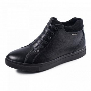 Кожаные зимние ботинки натуральные