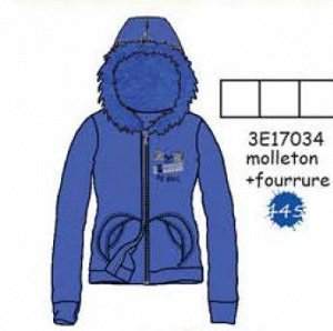 3E17034 CARDIGAN 445 : blue Electrique