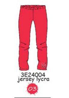 3E24004 LEGGINGS 03 : Rouge леггинсы