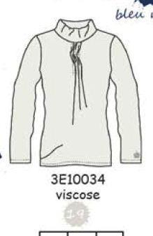 3E10034 TEE-SHIRT 19 : white casse