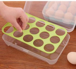 Контейнер для яиц на 15 ячеек.