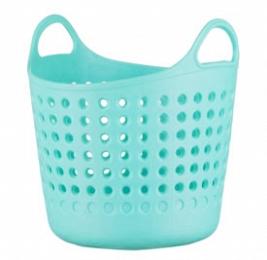 Корзина Корзина круглая для мелочей МЯТА. Очаровательные настольные корзинки для различных мелких предметов неизменно будут вызывать улыбку, благодаря своему дизайну и теплым расцветкам. Они очень удо