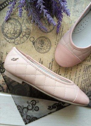 Туфли для девочки, натуральная кожа, 17,5 см по стельке