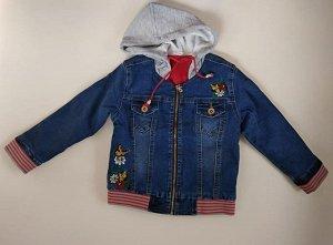 Куртка 134001-8 джинс утепл