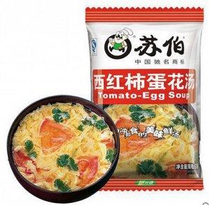 Томатный суп с яйцом быстрого приготовления KFC
