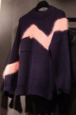 Красивый свитер на осень размер XL