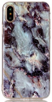 Чехол силиконовый мрамор