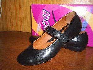 Черные туфли из натуральной кожи, 36 р-р