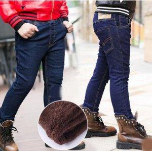 Утепленные джинсы р. 146-152