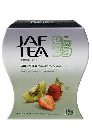 Чай JAF Strawberry Kiwi зеленый, 100г