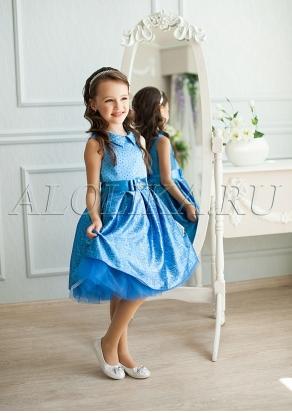 Стильное нарядное платье для девочек