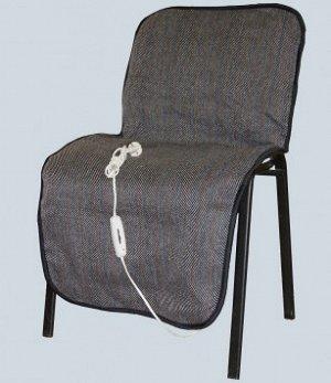 Чехол с подогревом на стул  54х117 см