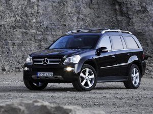 Коврик в багажник Mercedes-Benz GL-Class (X164) (03.2006 - 07.2012)