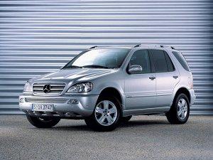 Коврик в багажник Mercedes-Benz M-Class (W163) (дорестайл) (1997 - 2001)