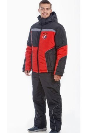 Зимний мужской костюм М-12 (красный)