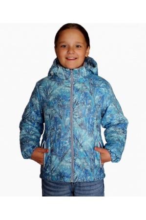 Детская куртка весна-осень КМ-01 (голубой)