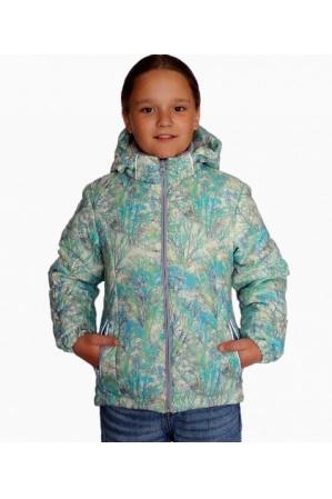 Детская куртка весна-осень КМ-01 (салат)