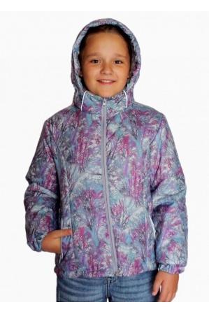 Детская куртка весна-осень КМ-01 (фиолет)