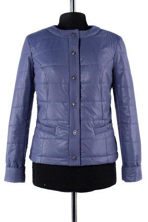 *Куртка демисезонная University (синтепон 100) Плащевка. Цвет Серо-сиреневый