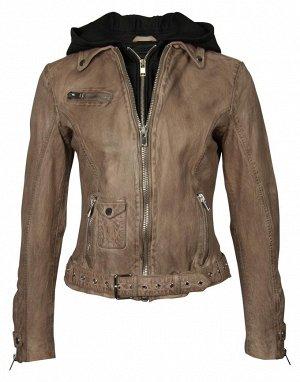 Крутая кожаная куртка