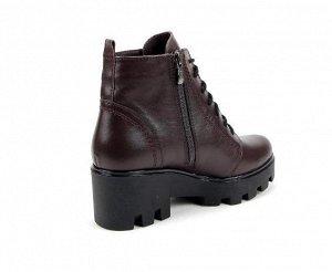 Ботинки кожа коричневый демисезон