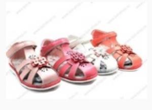 Туфли детские темно-розовые (стелька 18 см)